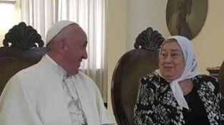 Hebe al Papa: Te escribo porque desde que nos vimos las cosas están mucho peor