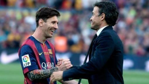Luis Enrique y la polémica por la renovación de Messi