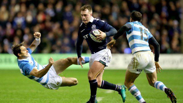 Los Pumas perdieron en la última jugada con Escocia