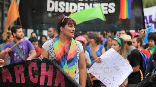 Se realizó en Paraná la primera Marcha del Orgullo Disidente