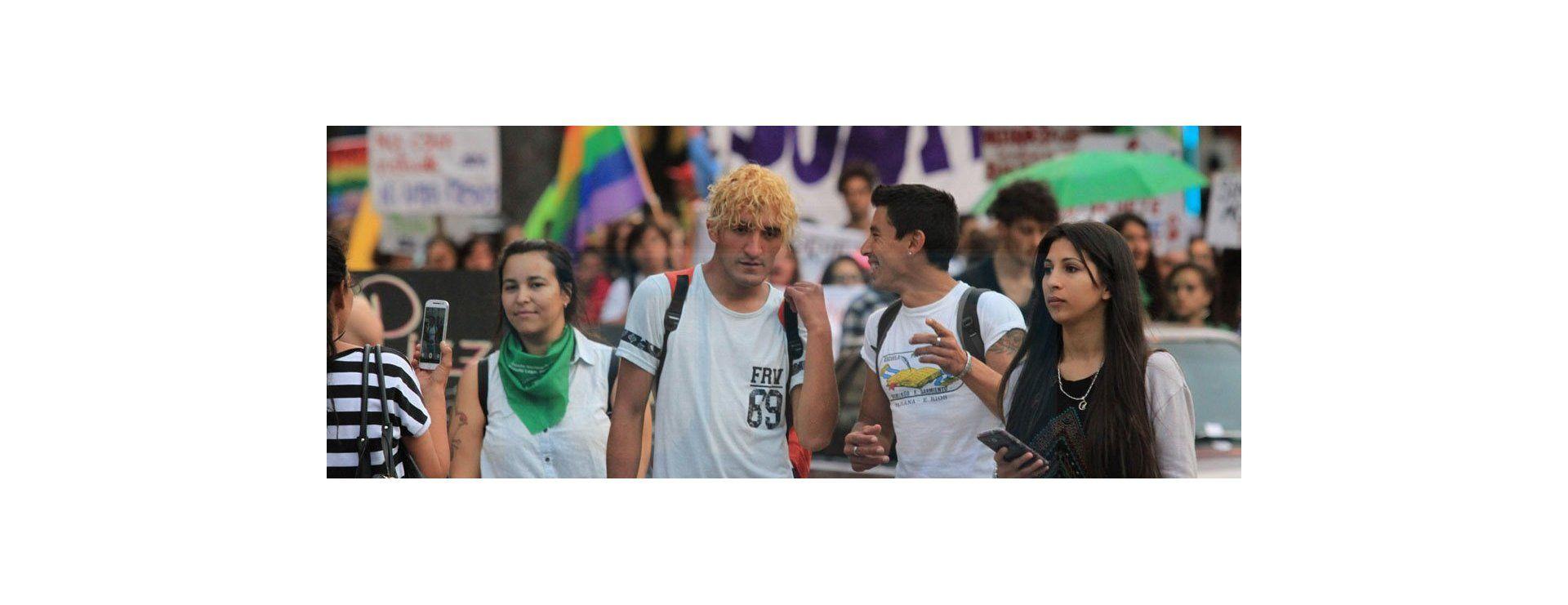 Todo el color de la primera Marcha del Orgullo Disidente en Paraná