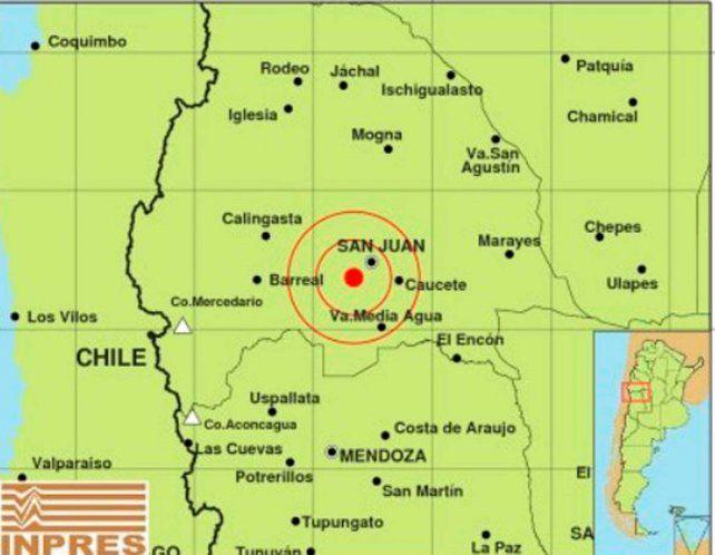 Un fuerte sismo de 5.6º asustó a los sanjuaninos y se sintió en Paraná