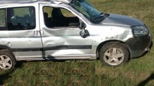 Dos mujeres muertas y una herida grave en un vuelco en la ruta 12