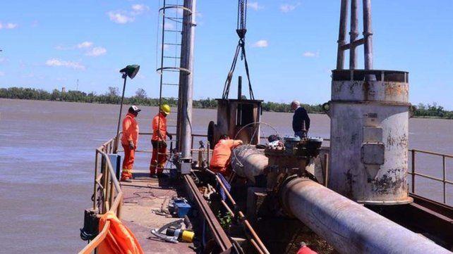 Esta noche la nueva bomba comenzará a enviar agua a la planta potabilizadora de avenida Ramírez