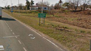 En La Picada viven cerca de 700 personas. Foto www.instantstreetview.com