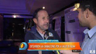 Guillermo Francella habló de la salud del hijo de Luisana Lopilato