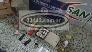 Secuestraron jabones con cocaína en la Terminal de Concepción del Uruguay