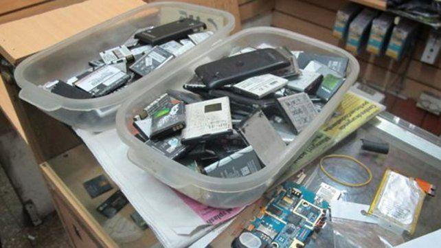 Una industria. Un celular es utilizado para varios delitos.