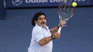 Maradona viajará a Zagreb para ver la final de la Copa Davis