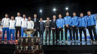 Delbonis abrirá la final de la Copa Davis ante Cilic