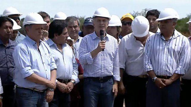 Macri: El trabajo es la solución a la pobreza