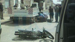 Una motociclista perdió la vida en un accidente en Victoria