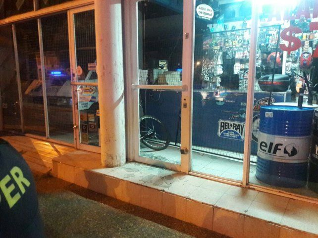 El local de avenida Almafuerte.