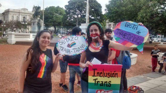 Paraná se unió al Gritazo en reclamo por los derechos de la comunidad T