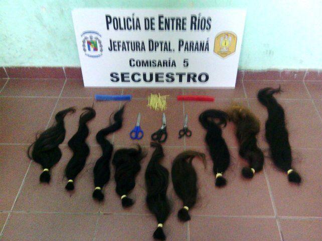 Atraparon a ladrones de cabello