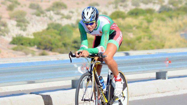 DESTACADO. Nicolás Beltzer es el actual subcampeón nacional de ruta y quiere seguir progresando.