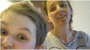 Se sacó una selfie con su hija enferma y apareció un ángel