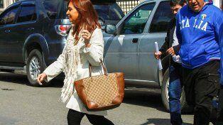 Cristina, ausente en Comodoro Py, se presentó en el juzgado federal de Río Gallegos
