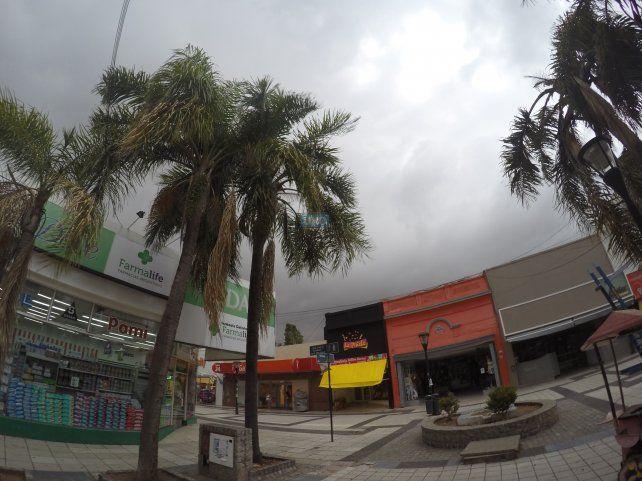 La nubes cubrieron el cielo de Paraná