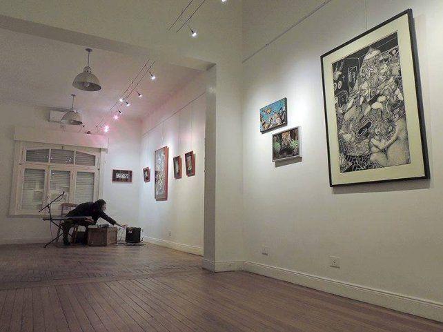 Mormandi con su teclado y las obras de Solari volverán a reunirse esta vez en Paraná.