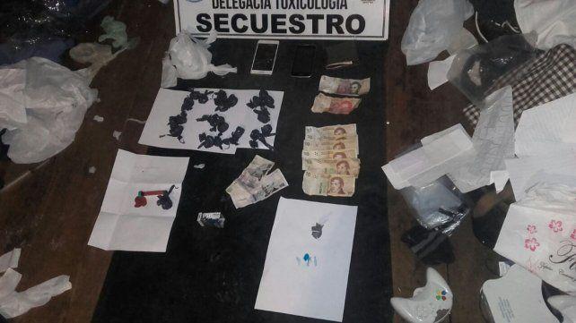 Allanamientos por droga en Chajarí y Concordia