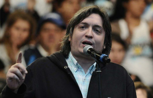 Máximo Kirchner estará en Paraná.