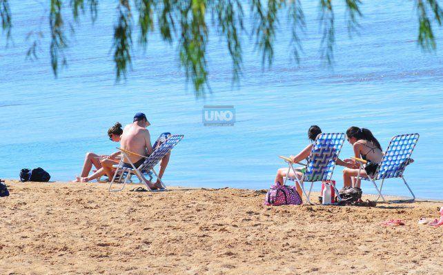 Entre Ríos es elegido por sus playas. Foto UNO Archivo.