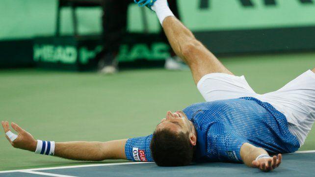 Delbonis alcanzó la gloria: venció a Karlovic y le dio la Copa Davis a la Argentina