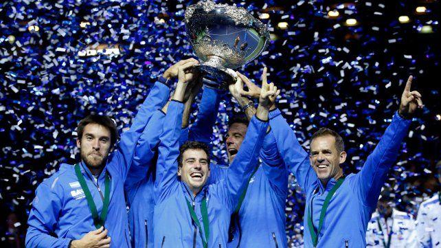 Histórico: Argentina campeón de la Copa Davis