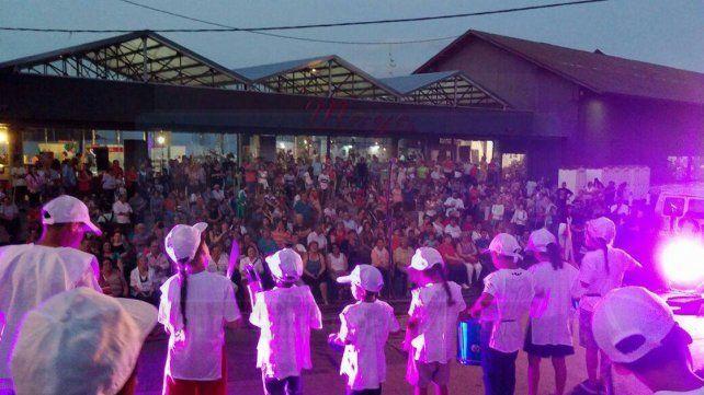 Paraná. La Feria de las Colectividades fue un paseo obligado.