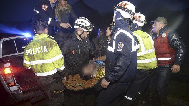 Son seis los sobrevivientes del accidente aéreo en Colombia