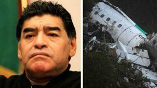 Diego Maradona: Desde hoy soy hincha del Chapecoense