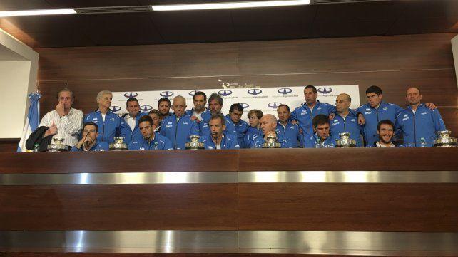 Del Potro aseguró que la Copa Davis se ganó con un grupo de cuatro amigos y un gran capitán