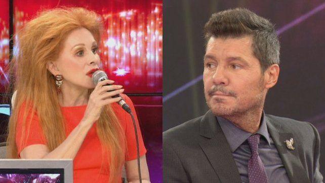El duro retweet de Nacha Guevara con un insulto hacia Tinelli