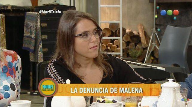Malena Guinzburg denunció fue abusada por su ex pareja