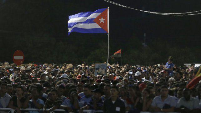 Millones de personas en la despedida a Fidel Castro en la Plaza de la Revolución