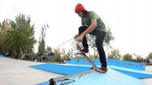 El skater que se quedó ciego y sigue patinando