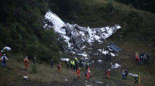 Accidente del Chapecoense: la última comunicación del piloto confirma que el avión no tenía combustible