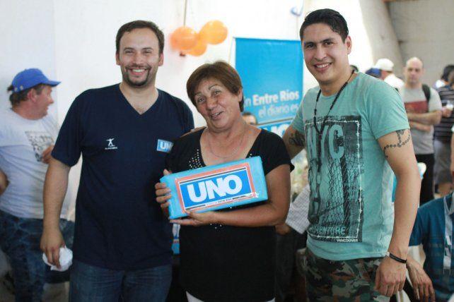 Diario UNO homenajeó a sus canillitas
