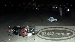 Un motociclista murió tras chocar contra el lateral de un acoplado