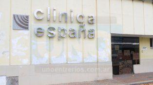 Retraso. Hace tres meses se había a anunciado que en días la Clínica España iba abrir.