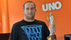 El paranaense Bruno Motroni fue el último ganador por el sóftbol. Este año se quedarán con las ganas.