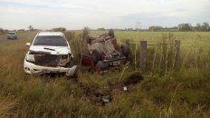 un hombre murio en un accidente de transito en villa elisa