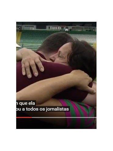 El conmovedor gesto de la mamà de Danilo con un periodista