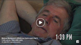 Increíble cambio de un paciente de Parkinson al probar aceite de cannabis por primera vez