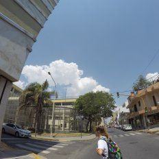 Así está el cielo en Paraná. Foto UNO Juan Manuel Kunzi.