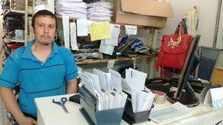 El dueño de la tienda de ropa se sorprendió cuando miró las cámaras de seguridad. Foto gentilezaPedro Ramírez.