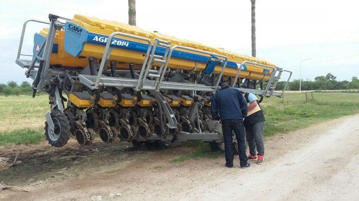 Desarticularon una banda vinculada al robo de máquinas agrícolas