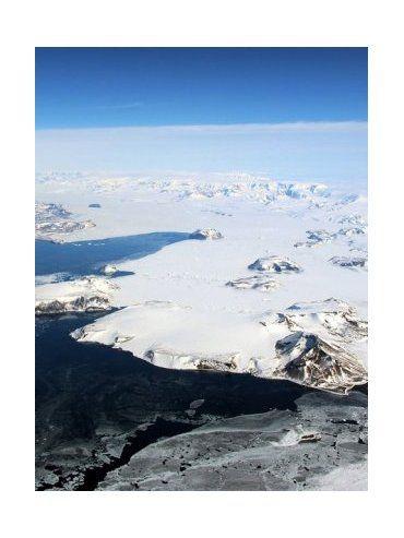 Hallaron una grieta de 530 metros de profundidad en la Antártida