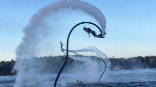 Foto Facebook Sky Flyboard Argentina.